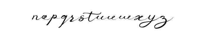 AnniversaPro Font LOWERCASE