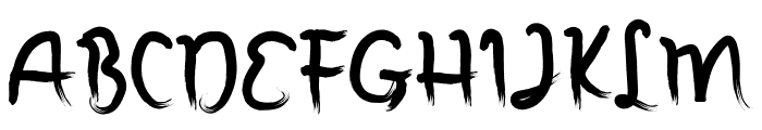 Annomali Font UPPERCASE