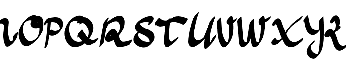 Anoma One Font UPPERCASE