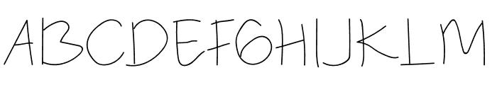 Anomali Font UPPERCASE