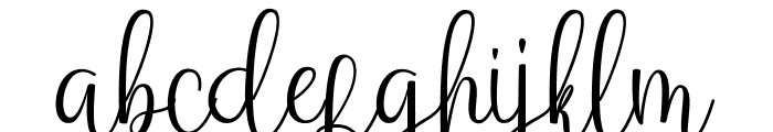 Anteater Font LOWERCASE