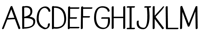Anugrah Font UPPERCASE
