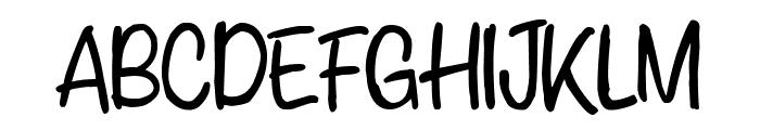Anychild Font UPPERCASE