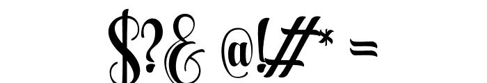Aqualita Font OTHER CHARS