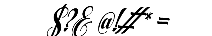 AqualitaItalic Font OTHER CHARS