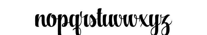 Aqualita Font LOWERCASE