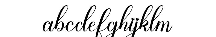 ArabellaBelinda Font LOWERCASE