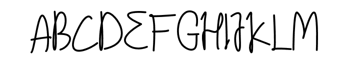 Archestra Font UPPERCASE