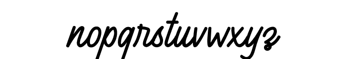 Arealand Font LOWERCASE