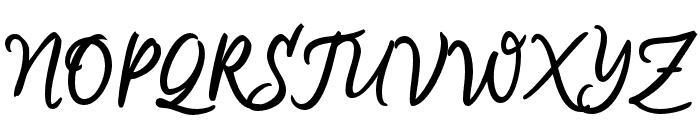 Aremoin-Regular Font UPPERCASE