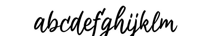 Aremoin-Regular Font LOWERCASE