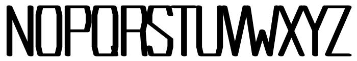 Argent regular Font UPPERCASE