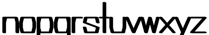 Argent regular Font LOWERCASE