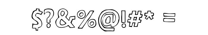 ArizonaOutline Font OTHER CHARS