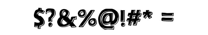 ArizonaShadow-Medium Font OTHER CHARS