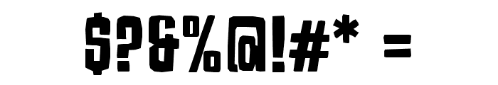 Armageda Font OTHER CHARS