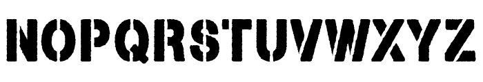 Armed and Traitorous Font UPPERCASE