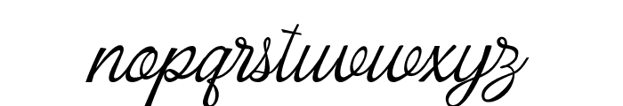 ArmelyaScript Font LOWERCASE