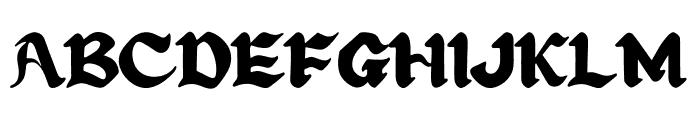 Art Design Font UPPERCASE