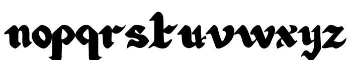 Art Design Font LOWERCASE