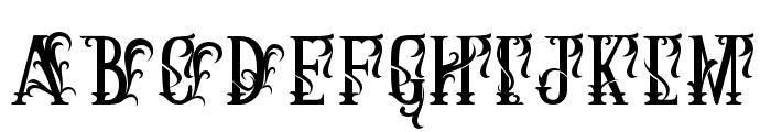 ArthouseAlt01 Font LOWERCASE