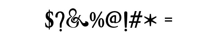 ArthouseAlt02 Font OTHER CHARS