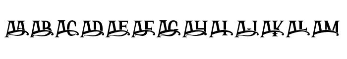 ArthouseAlt02 Font LOWERCASE