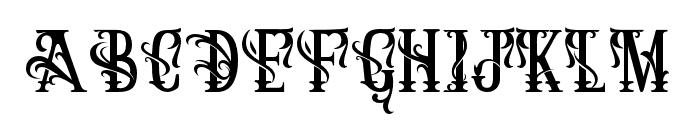 ArthouseAlt03 Font UPPERCASE