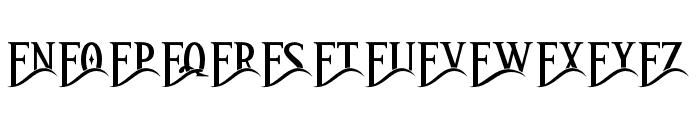 ArthouseAlt03 Font LOWERCASE