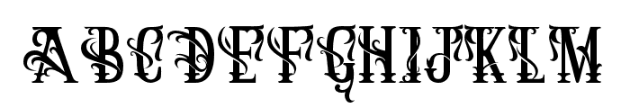 ArthouseAlt07 Font UPPERCASE