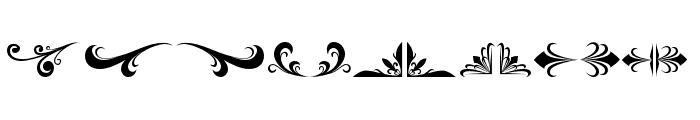 ArthouseOrnament02 Font UPPERCASE