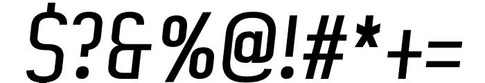 Artisan regular Font OTHER CHARS