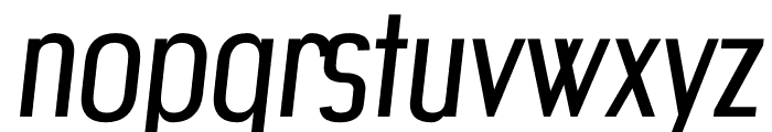 Artisan regular Font LOWERCASE