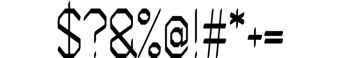 Artwork regular Font OTHER CHARS