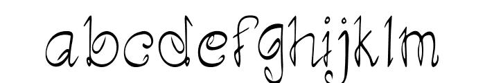 Artwork Font LOWERCASE
