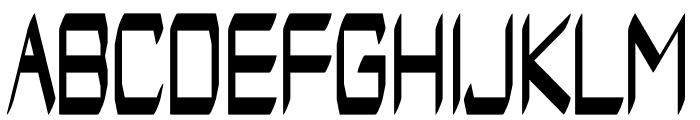 Arvandus regular Font UPPERCASE