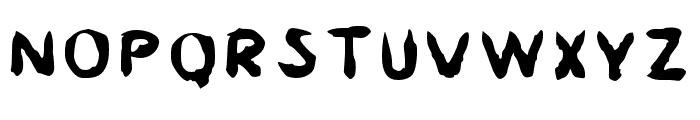 Asai Font UPPERCASE