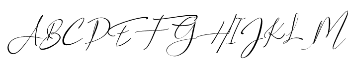 Asgard Slant Font UPPERCASE
