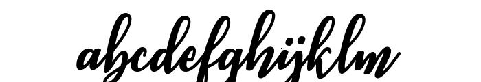 Ashburton Font LOWERCASE