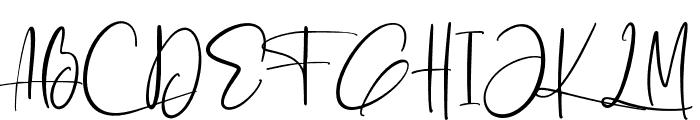 Ashcroft Alt Font UPPERCASE