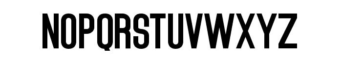 Ashcroft Sans Serif Font UPPERCASE