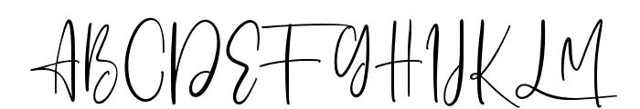 Ashcroft Font UPPERCASE