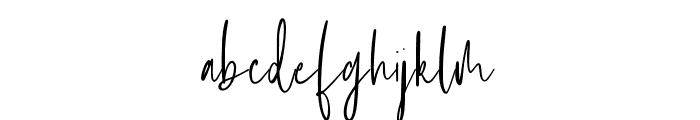 Ashcroft Font LOWERCASE