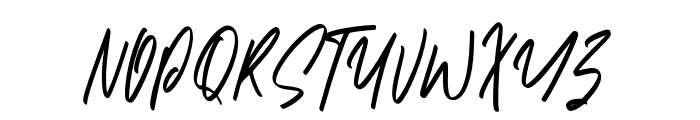 Asiatropic Font UPPERCASE