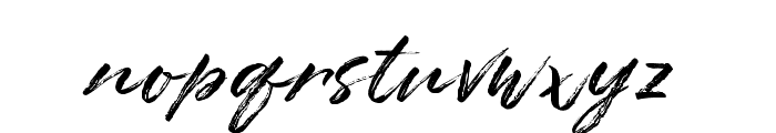 Astage Font LOWERCASE