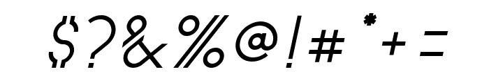 Astrobia Bold Italic Font OTHER CHARS