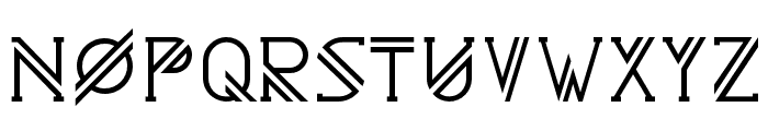 Astrobia Bold Font UPPERCASE
