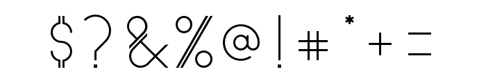 Astrobia Font OTHER CHARS