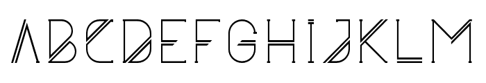 Astrobia Font UPPERCASE