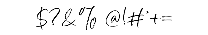 Atkinson Signature  Font OTHER CHARS